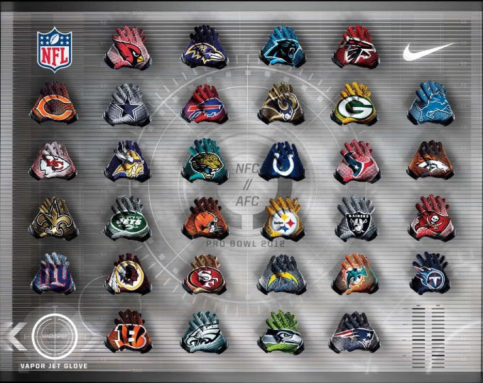 Nike planning big changes to NFL uniforms for 2012 season? Pictures
