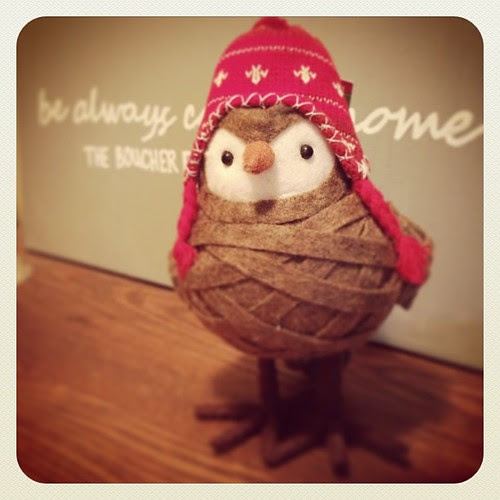 The cutest winter birdie. #thankstarget #fivedollar