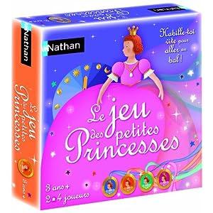 Nathan - 31123 - Jeu de Société - Jeu éducatif - Le Jeu Des Princesses
