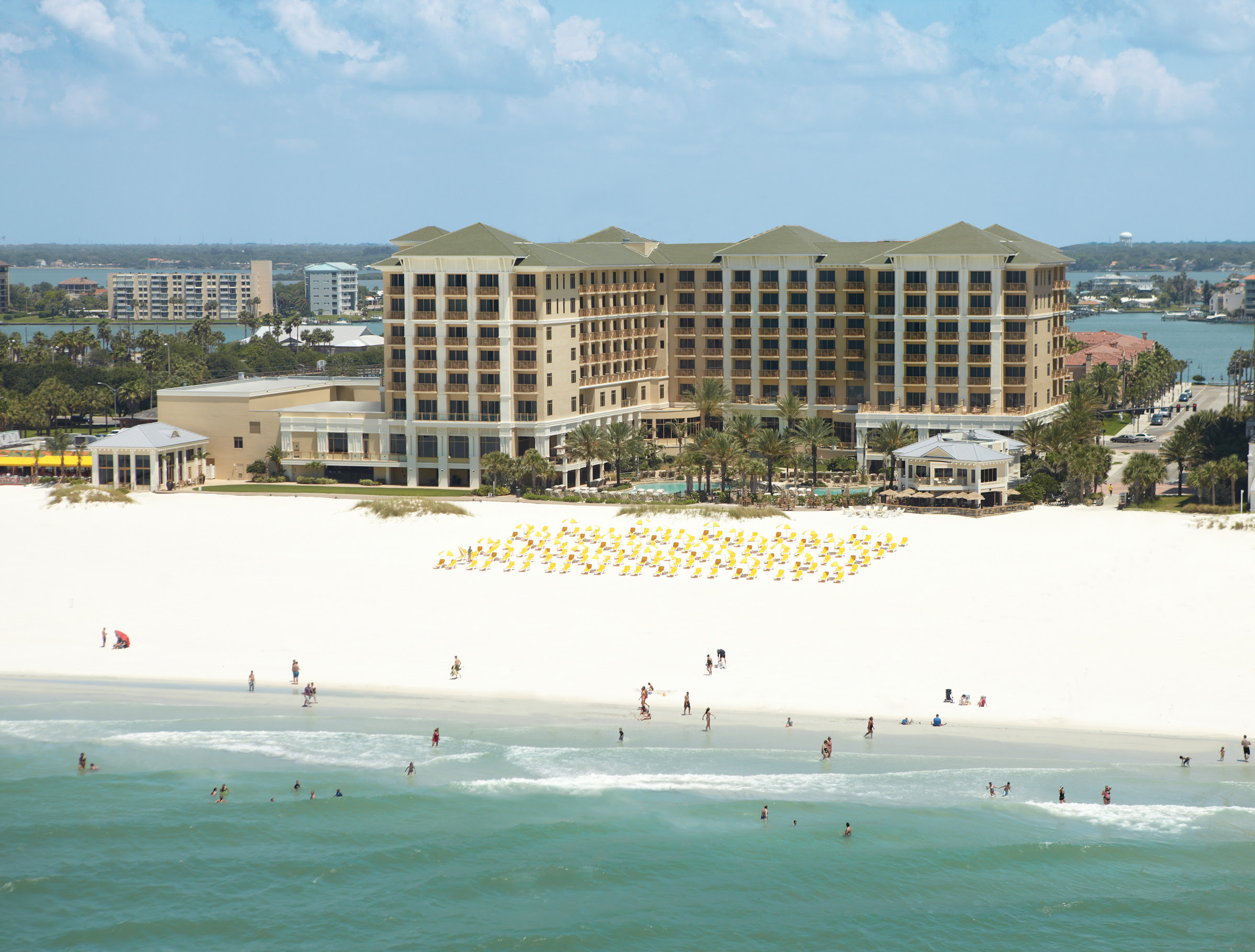 Sandpearl Resort  Clearwater Beach FL  Business Profile