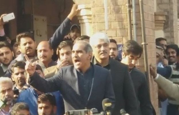 Khawaja Saad Rafique and brother released from jail after SC granted bail