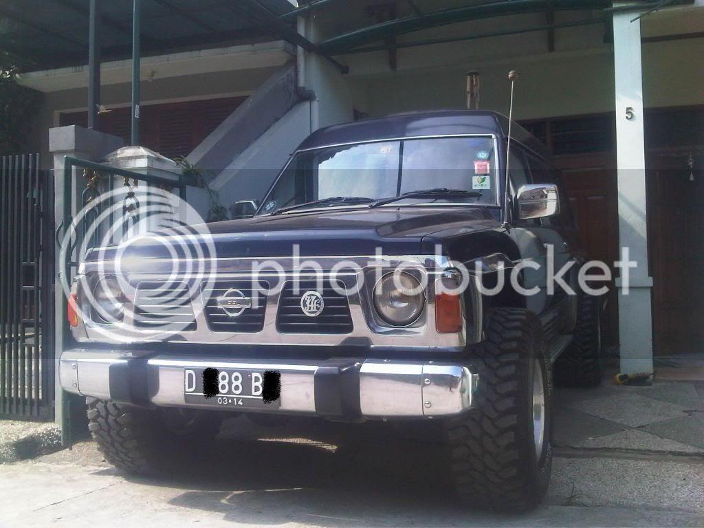 Nissan Patrol Ex KTT 1992 BUILD UP
