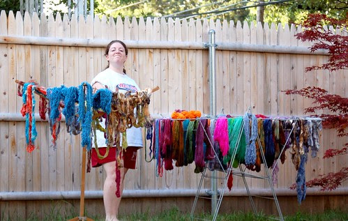 Naomi - queen of the drying rack