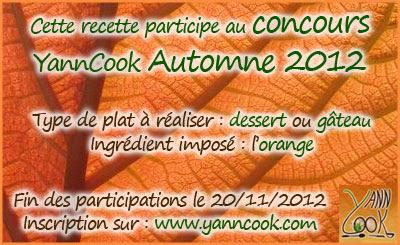 Vie quotidienne de FLaure: Concours Yanncook