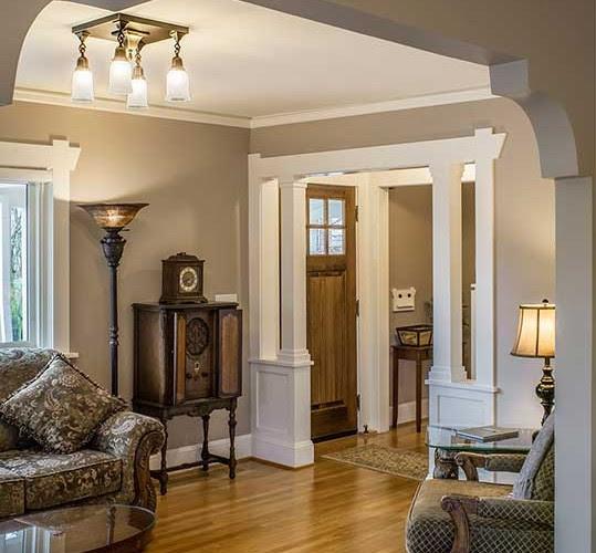 Modern Craftsman Style Home Interiors Single Story ...