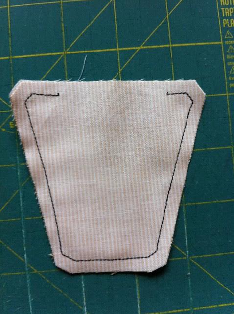 Sew around the edge