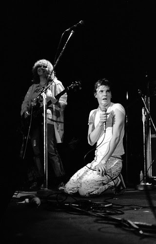 Darby Crash and Lorna Doom perform, 1977