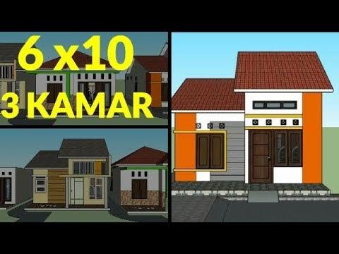 good desain rumah sederhana minimalis ukuran 6x10 meter 3