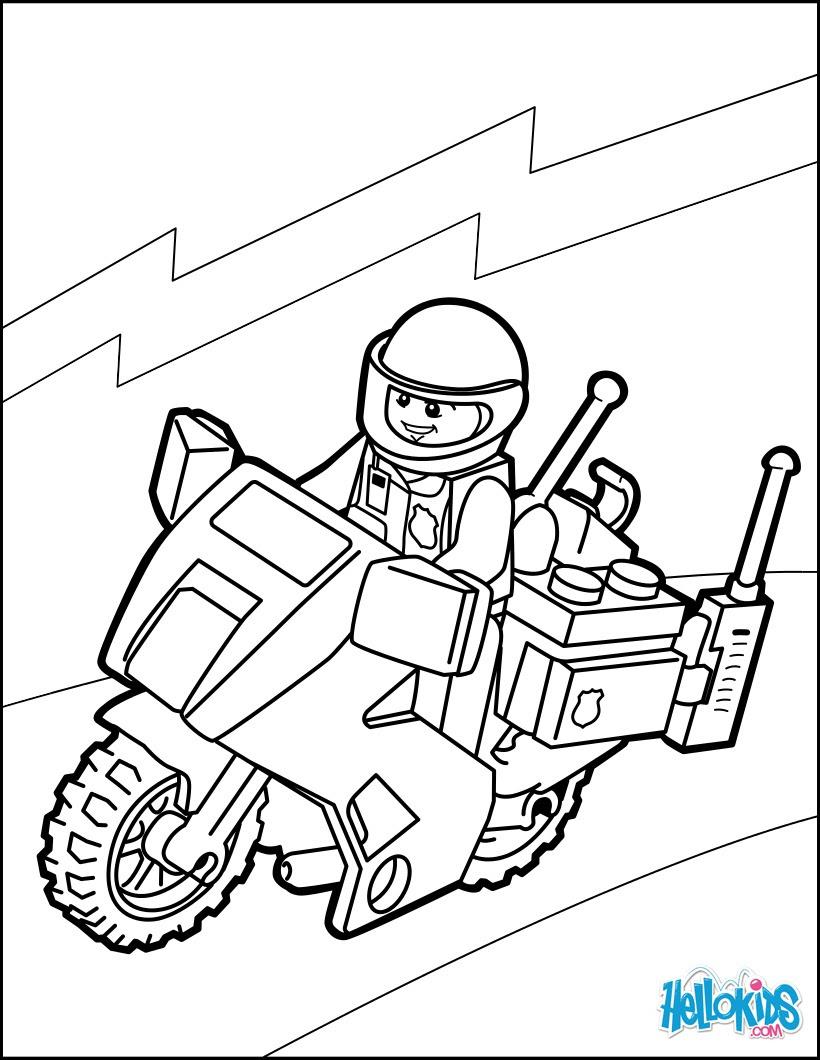playmobil ausmalbilder polizei  malvorlagen