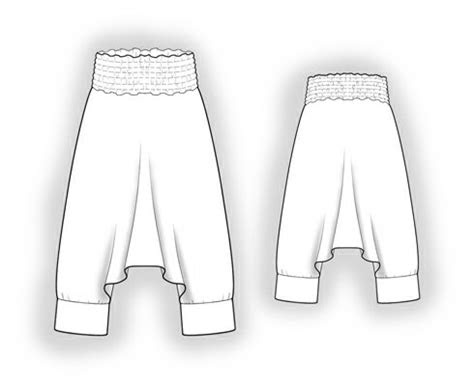 sarouelharem pants sewing pattern