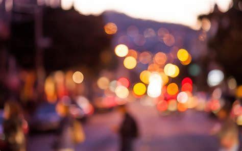 bokeh lights sunset city hd desktop wallpaper instagram