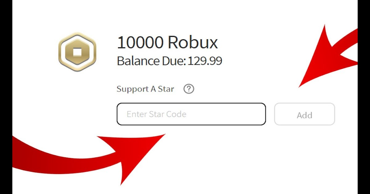 how do you use a star code in roblox