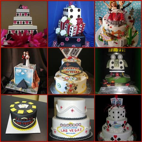 Vegas Themed Wedding Cake Ideas   Here Comes The Blog