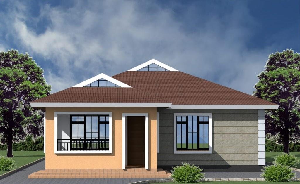 29 1 Bedroom House Plan In Kenya, Modern 3 Bedroom House Plans In Kenya