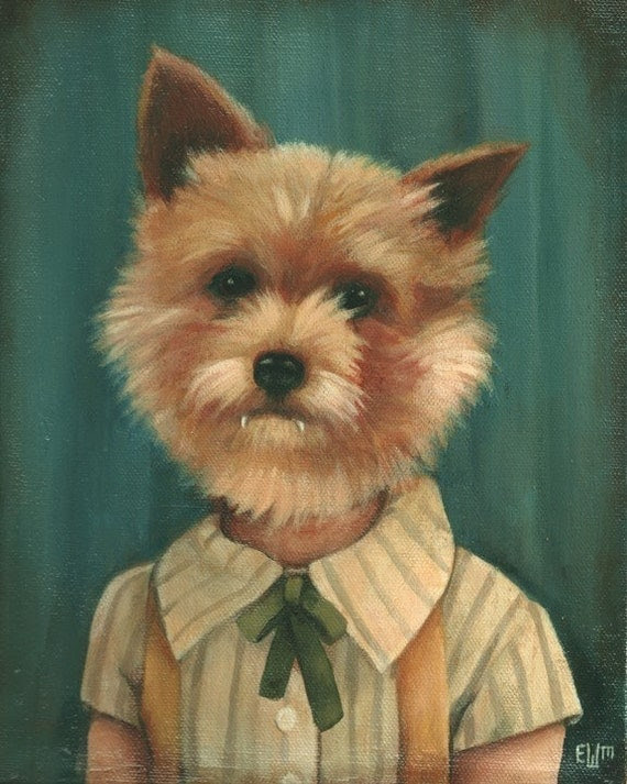 The Dog-Faced Boy Print 8x10