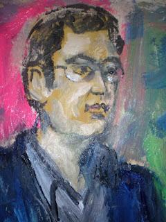 Self-portrait by Raza Rumi