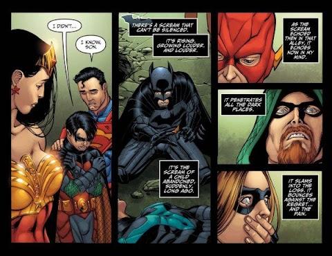 Injustice Gods Among Us Comic Nightwing Death