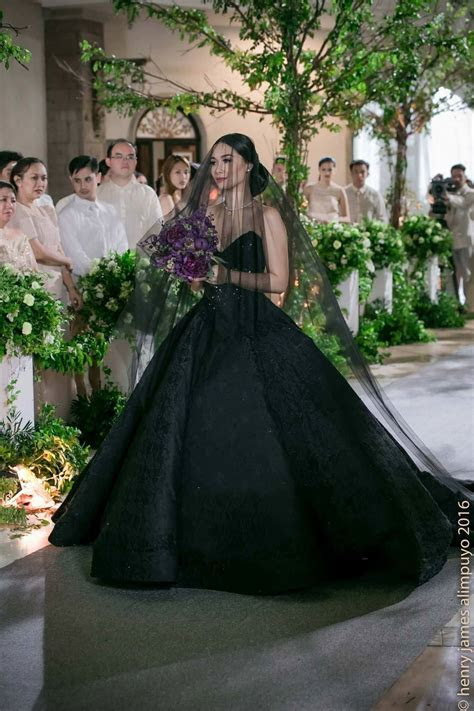LOOK: Maja Salvador Stuns in Black Bridal Gown as 'Ivy