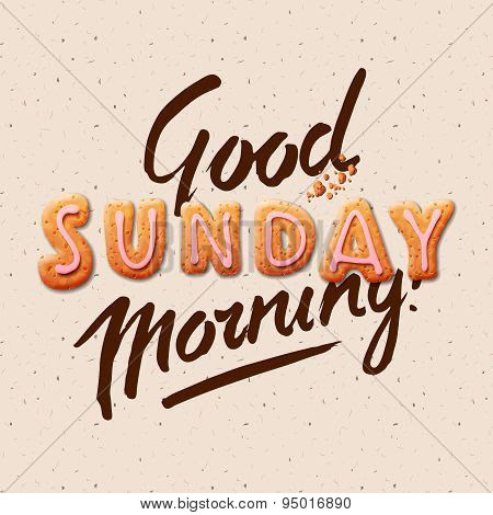 Good Morning Sunday Poster Id95016890