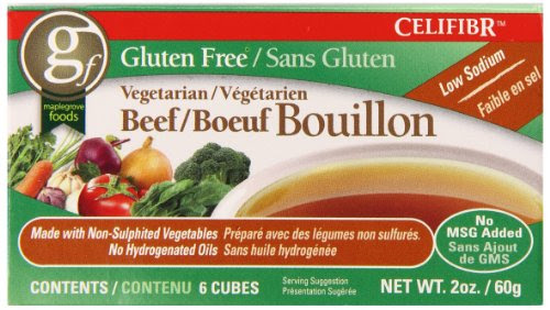 Celifibr Gluten Free Vegetarian Bouillon Soup, Beef, 2 ...