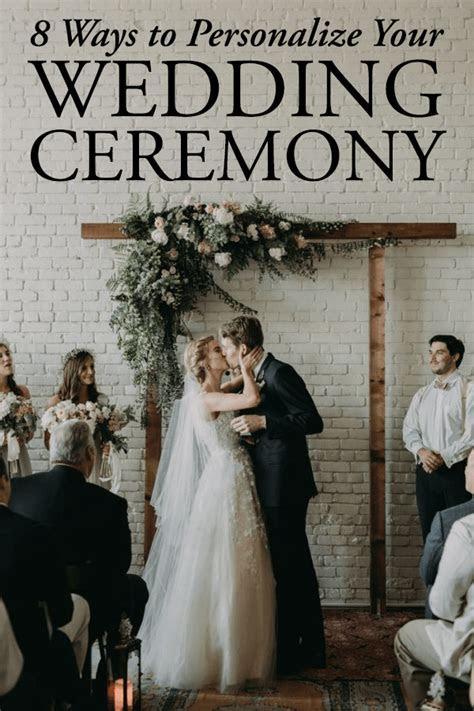 8 Ways to Personalize Your Wedding Ceremony   Junebug Weddings