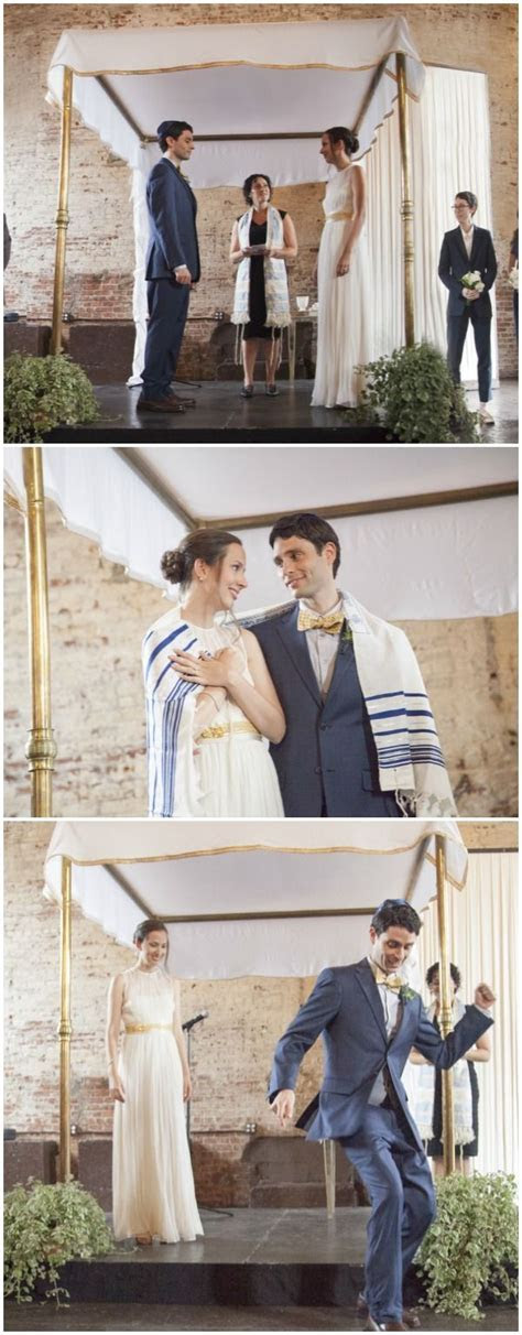 Jewish Wedding Ceremony Brooklyn by Sarah Hoppes