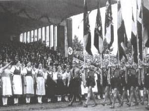 Desfile de las Juventudes Hitlerianas