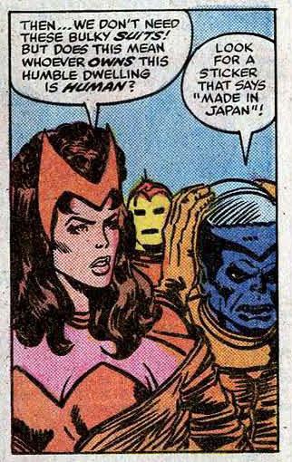 Avengers #167