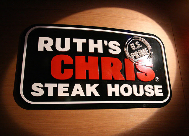 Ruth's Chris is at Marina Mandarin Singapore