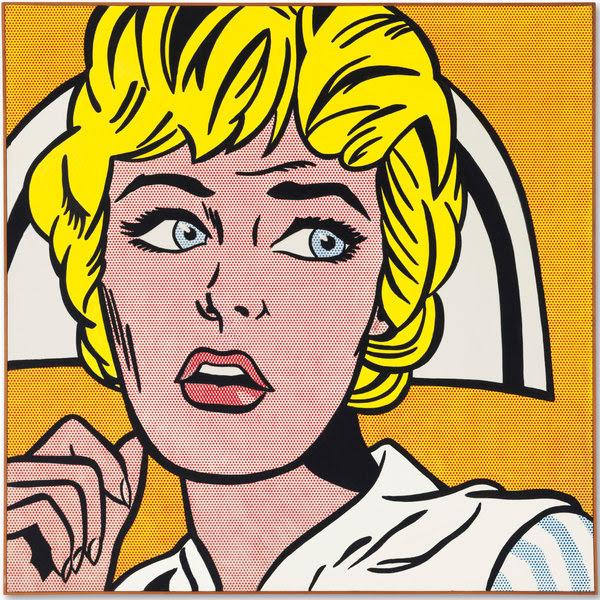 Lichtenstein Nurse ile ilgili görsel sonucu