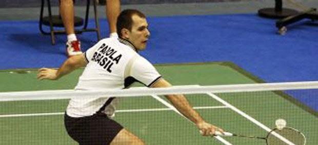 Badminton - Daniel Paiola no Pan-Americano (Foto: Gaspar Nóbrega/Inovafoto/COB)