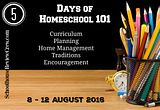 5 Days of Homeschooling 101: Day Four - Traditions