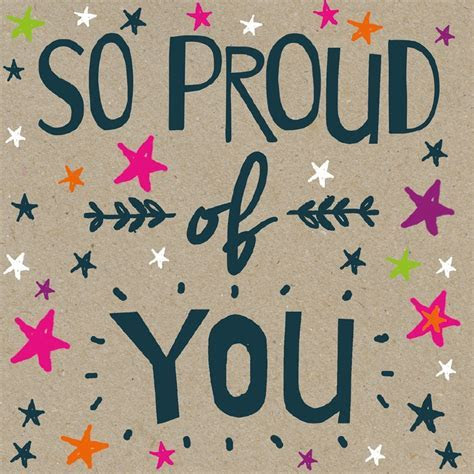 A Proud of You Card   Well Done   Occasions