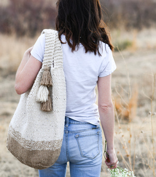 Knit Kit - Mohave Slouchy Tote Bag