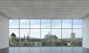Pompidou Centre Metz, View from inside