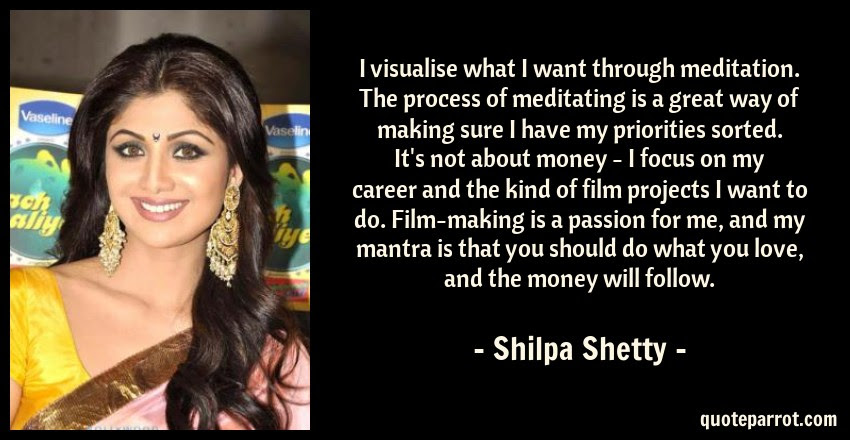 I Visualise What I Want Through Meditation The Process By Shilpa