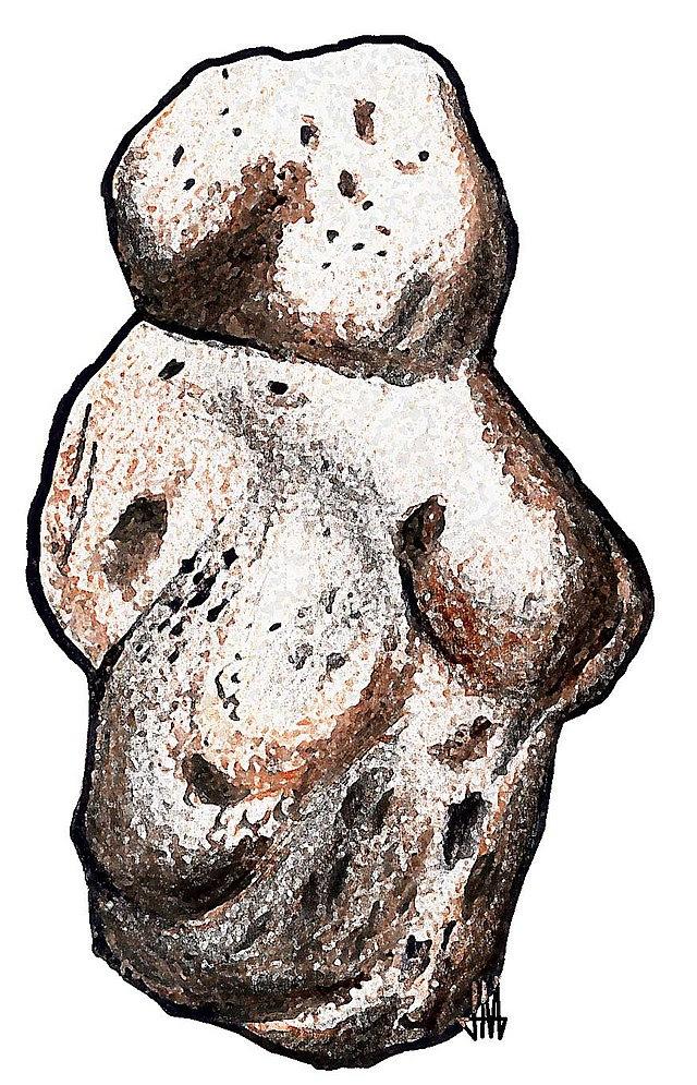 Venus de Berejat Ram, ¿arte o herramienta?