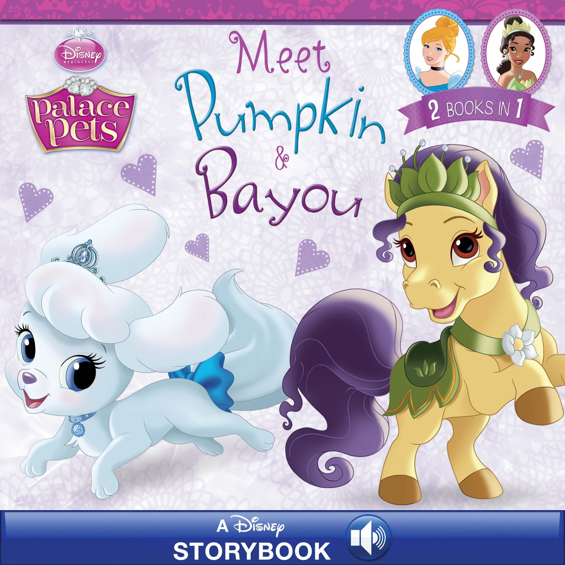 Palace Pets: Meet Pumpkin & Bayou | Disney Books | Disney ...