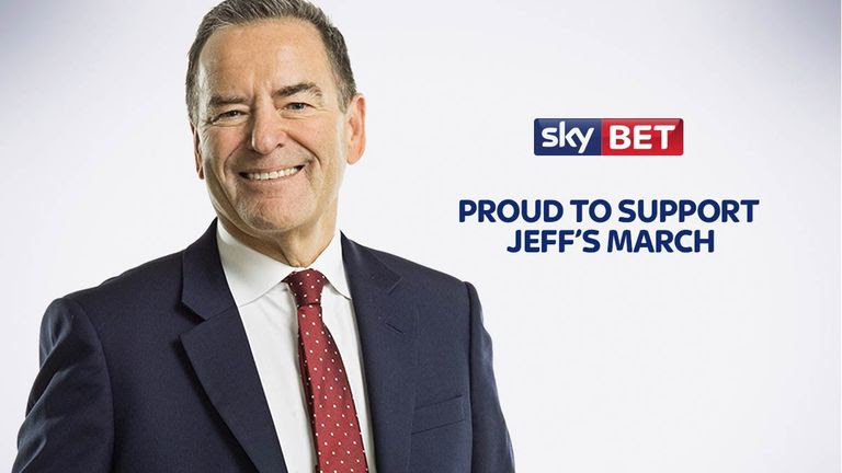 Sky Bet to Auction Signed Shirts in aid of Jeff Stelling's Men United March