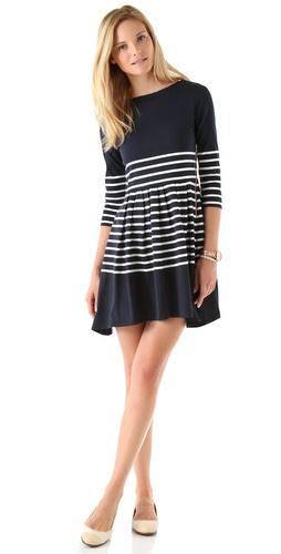 Boy. by Band of Outsiders Striped Long Sleeve Dress