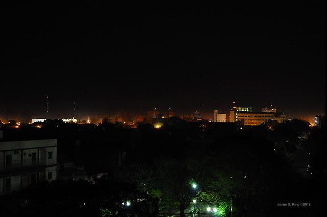 El barrio a oscuras