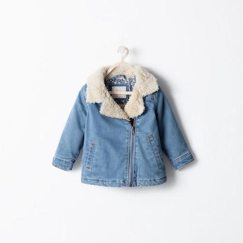 Zara babyjacket