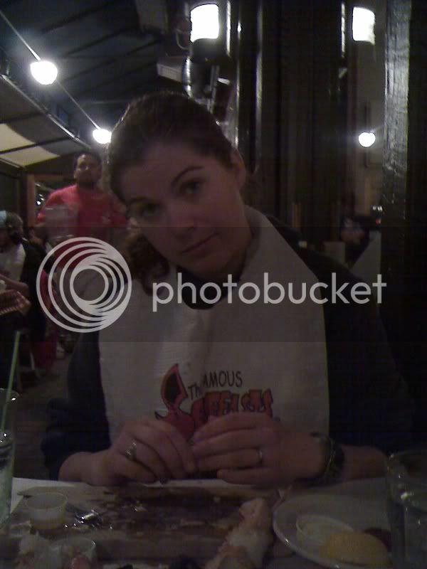 Ana at the Crab Pot
