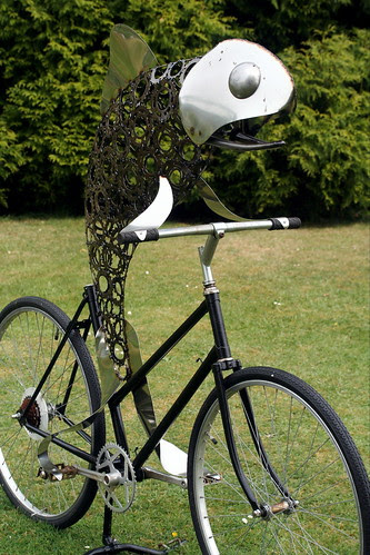 Fish On a Bicycle - closer