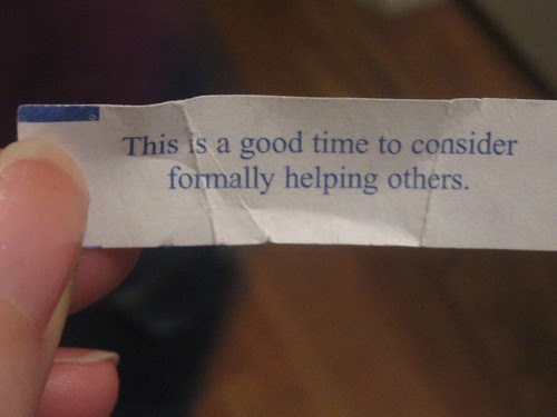 Hmm, good advice perhaps, but does it really qualify as a fortune? by BluEyedA73