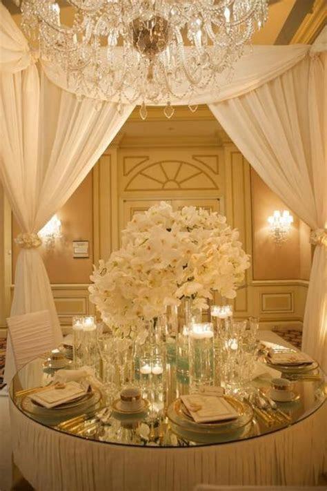 Una boda brillante: Decoración para bodas en oro y plata