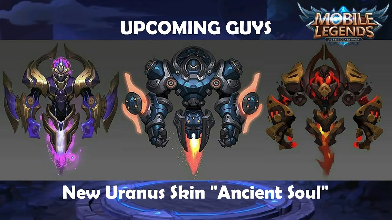 Mobile Legends Upcoming Skins 2019