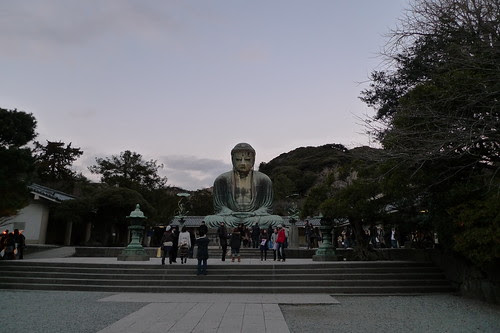 Great Buddha in the evening