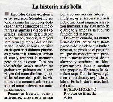 LA HISTORIA + BELLA