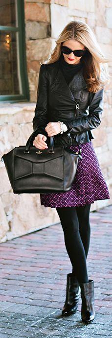 #Purple #Tweed by Ivory Lane